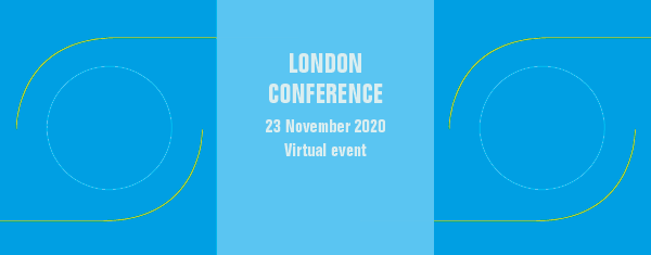 London conference banner