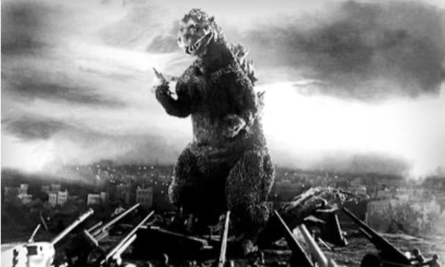 Godzilla from the original film