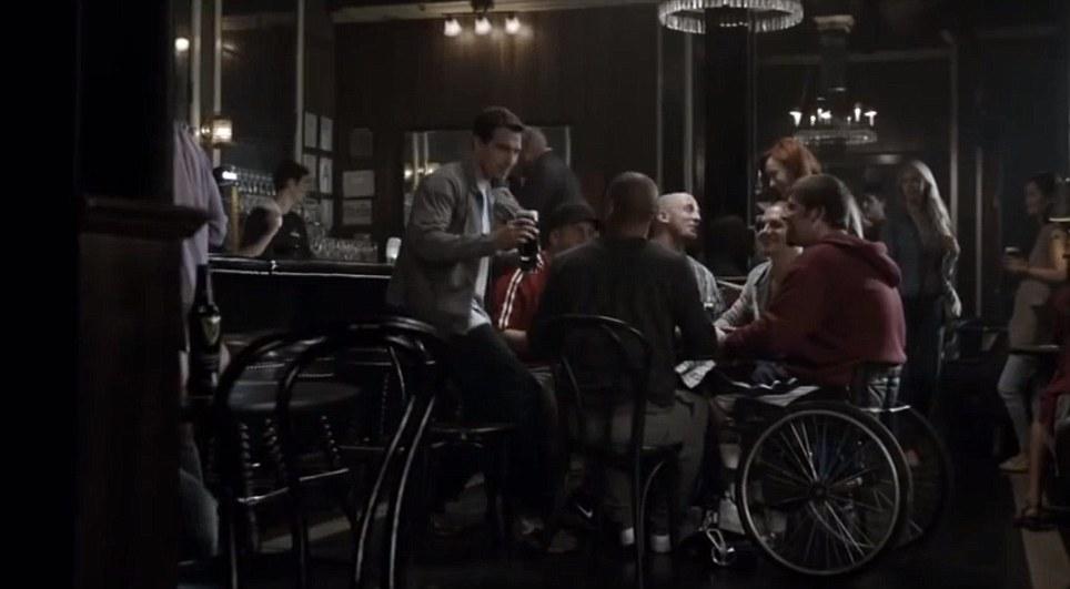 guinness wheelchair ad