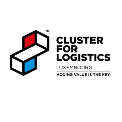 Cluster for logistics logo