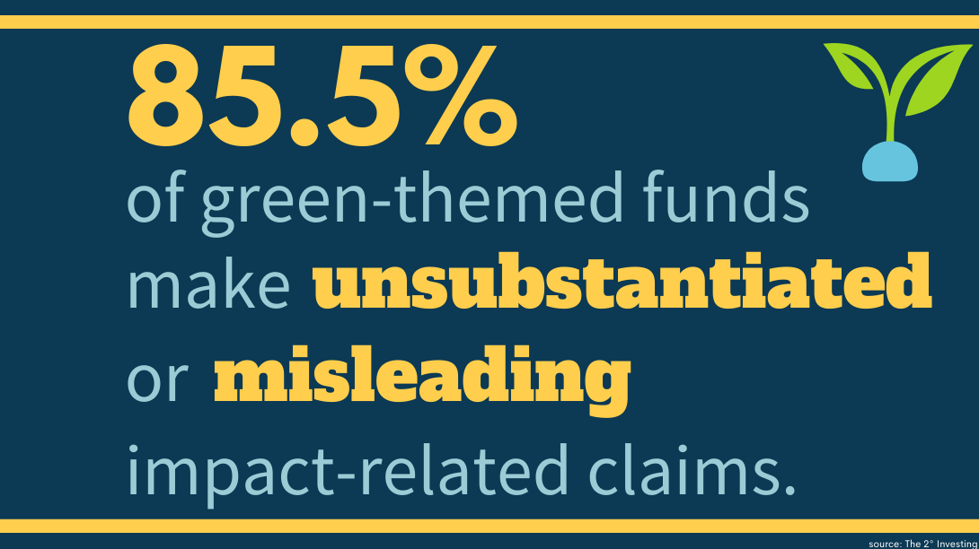 misleading green-themed funds graphic